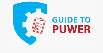 Guide to PUWER graphic