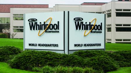 Whirlpool headquarters sign