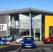 Renault company building